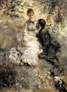 The Lovers painting reproduction, Pierre-Auguste Renoir