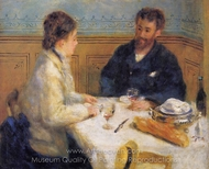 The Luncheon painting reproduction, Pierre-Auguste Renoir