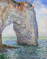 The Manneport Near Etretat painting reproduction, Claude Monet