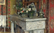 The Mantelpiece painting reproduction, Edouard Vuillard
