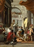The Marriage of Frederick Barbarossa painting reproduction, Giovanni Battista Tiepolo