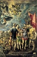 The Martyrdom of Saint Maurice painting reproduction, El Greco