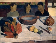 The Meal painting reproduction, Paul Gauguin