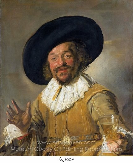 Frans Hals, The Merry Drinker oil painting reproduction