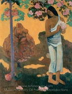 The Month of Mary (Te Avae No Maria) painting reproduction, Paul Gauguin