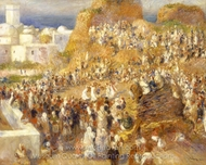The Mosque (Arab Festival) painting reproduction, Pierre-Auguste Renoir