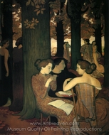The Muse painting reproduction, Maurice Denis