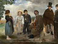 The Old Musician painting reproduction, Édouard Manet