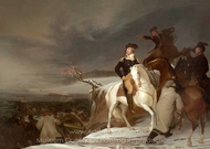 The Passage of the Delaware painting reproduction, Thomas Sully