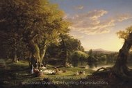 The Pic-Nic painting reproduction, Thomas Cole