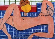 The Pink Nude painting reproduction, Henri Matisse
