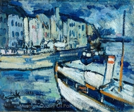 The Port of Le Havre painting reproduction, Maurice De Vlaminck