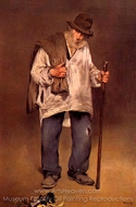The Ragpicker painting reproduction, �douard Manet