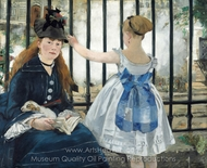 The Railroad (The Railway) painting reproduction, Édouard Manet