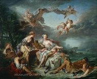 The Rape of Europa painting reproduction, Francois Boucher
