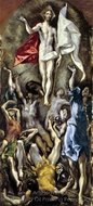 The Resurrection painting reproduction, El Greco