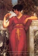 The Ring painting reproduction, John William Godward