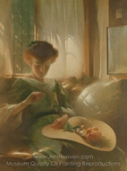 The Ring painting reproduction, John White Alexander