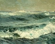 The Roaring Forties painting reproduction, Frederick Judd Waugh