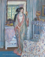 The Robe painting reproduction, Frederick Carl Frieseke