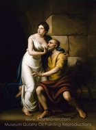 The Roman Daughter painting reproduction, Rembrandt Peale