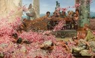 The Roses of Heliogabalus painting reproduction, Sir Lawrence Alma-Tadema