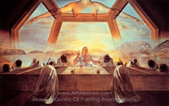 The Sacrament of the Last Supper painting reproduction, Salvador Dali (inspired by)