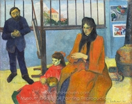The Schuffenecker Family painting reproduction, Paul Gauguin