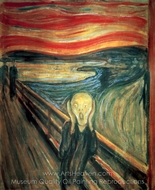 The Scream painting reproduction, Edvard Munch