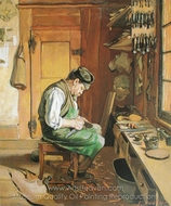 The Shoemaker painting reproduction, Ferdinand Hodler