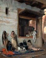 The Slave Market painting reproduction, Jean-Leon Gerome