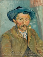 The Smoker painting reproduction, Vincent Van Gogh