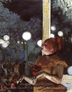 The Song of the Dog painting reproduction, Edgar Degas