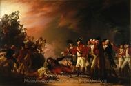 The Sortie Made by the Garrison of Gibraltar painting reproduction, John Trumbull
