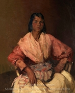 The Spanish Gypsy painting reproduction, Robert Henri