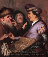 The Spectacle Pedlar painting reproduction, Rembrandt Van Rijn