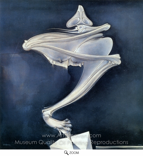 Hans Bellmer, The Spinning Top oil painting reproduction
