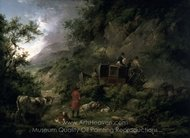 The Stagecoach painting reproduction, George Morland