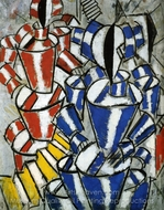The Staircase painting reproduction, Fernand Leger