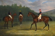 The Start of the Goodwood Gold Cup painting reproduction, John Frederick Herring Sr.