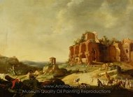 The Stoning of St. Stephen painting reproduction, Bartholomeus Breenbergh