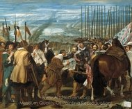 The Surrender of Breda painting reproduction, Diego Velazquez