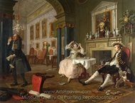 The Tate O Tate painting reproduction, William Hogarth