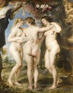 The Three Graces painting reproduction, Peter Paul Rubens