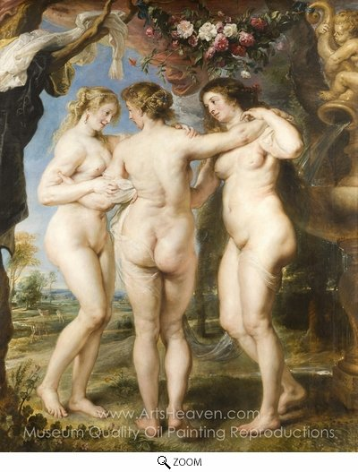 Peter Paul Rubens, The Three Graces oil painting reproduction