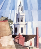 The Tower painting reproduction, Charles Demuth