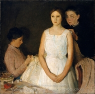 The Trousseau painting reproduction, Charles Webster Hawthorne