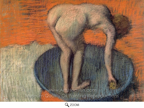 Edgar Degas, The Tub oil painting reproduction