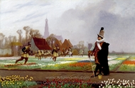 The Tulip Folly painting reproduction, Jean-Leon Gerome