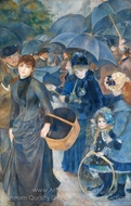 The Umbrellas painting reproduction, Pierre-Auguste Renoir